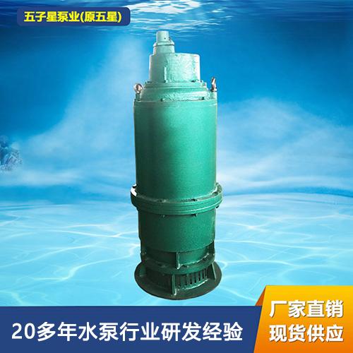 BQS矿用隔爆型排沙排污泵BQS50-65-18.5/N